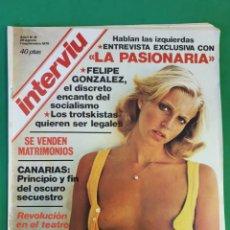 Coleccionismo de Revista Interviú: REVISTA INTERVIU. 1976. NÚMERO 15. LA PASIONARIA.. Lote 173405717