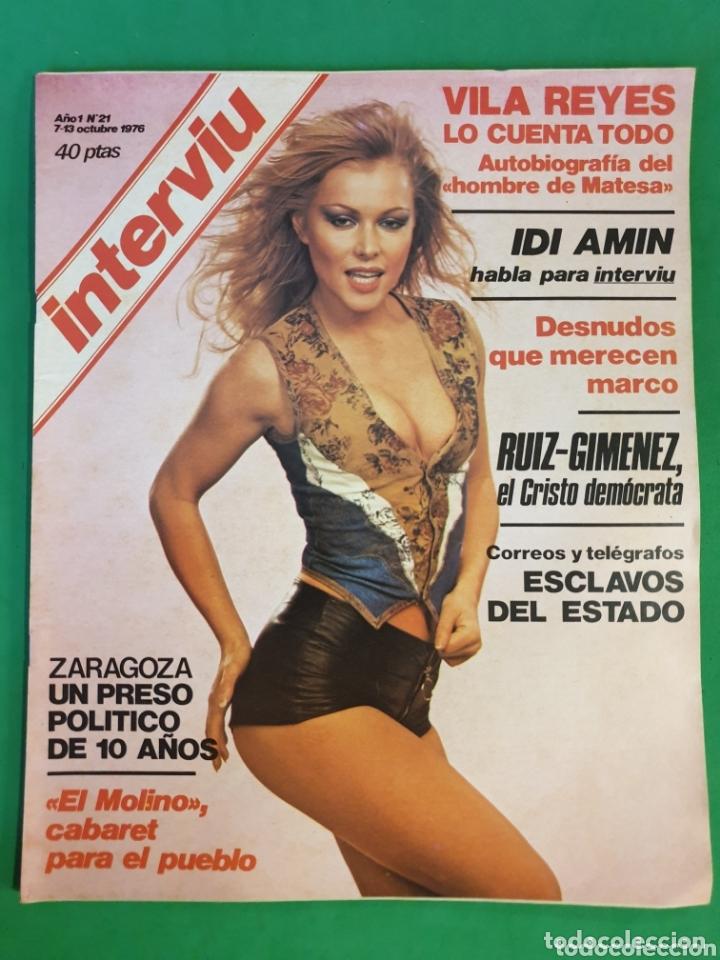 REVISTA INTERVIU. 1976. NÚMERO 21. IDI AMIN (Coleccionismo - Revistas y Periódicos Modernos (a partir de 1.940) - Revista Interviú)