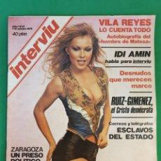 Coleccionismo de Revista Interviú: REVISTA INTERVIU. 1976. NÚMERO 21. IDI AMIN. Lote 173407042