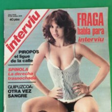 Coleccionismo de Revista Interviú: REVISTA INTERVIU. 1976. NÚMERO 22. SYLVIA KRISTEL. Lote 173407205