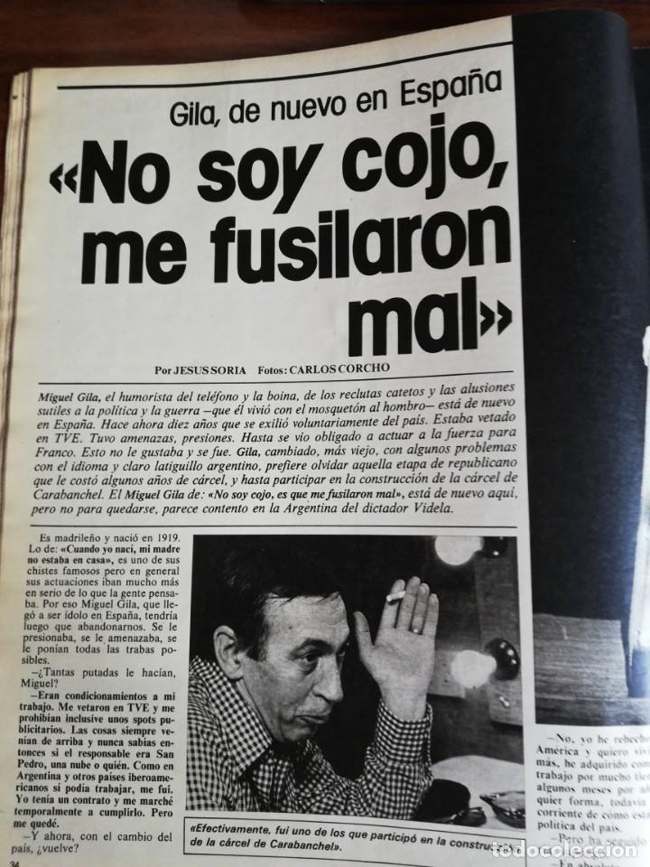 Coleccionismo de Revista Interviú: INTERVIÚ Nº 175. VICTORIA VERA. TAMAMES. LO QUE CHUPAN LOS COCHES. INCLUYE SUPL. SAL Y PIMIENTA - Foto 3 - 173926890