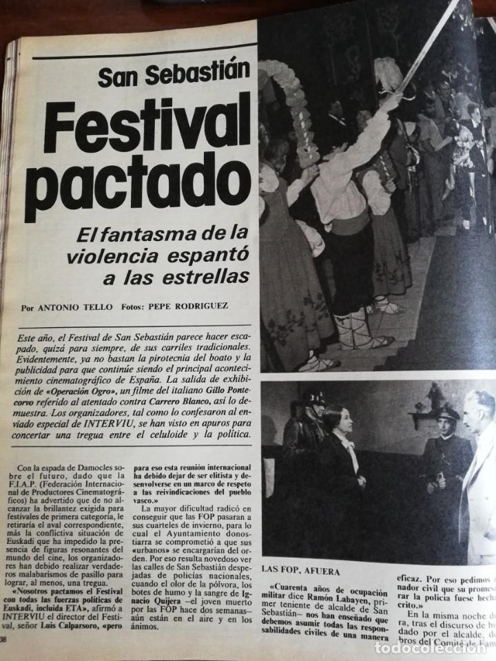 Coleccionismo de Revista Interviú: INTERVIÚ Nº 175. VICTORIA VERA. TAMAMES. LO QUE CHUPAN LOS COCHES. INCLUYE SUPL. SAL Y PIMIENTA - Foto 4 - 173926890