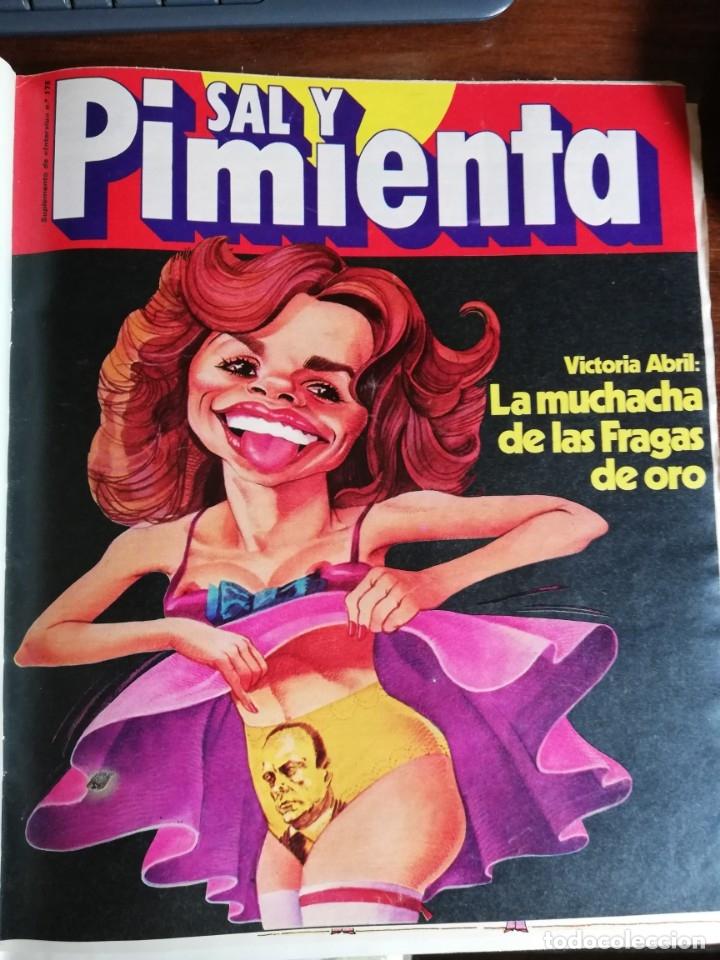 Coleccionismo de Revista Interviú: INTERVIÚ Nº 175. VICTORIA VERA. TAMAMES. LO QUE CHUPAN LOS COCHES. INCLUYE SUPL. SAL Y PIMIENTA - Foto 5 - 173926890