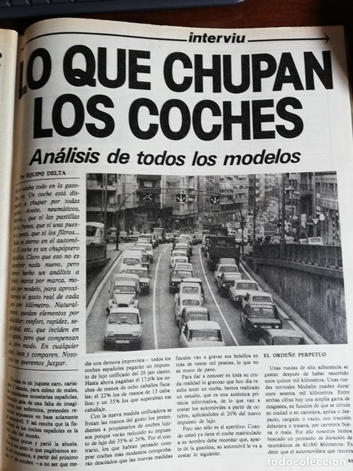 Coleccionismo de Revista Interviú: INTERVIÚ Nº 175. VICTORIA VERA. TAMAMES. LO QUE CHUPAN LOS COCHES. INCLUYE SUPL. SAL Y PIMIENTA - Foto 7 - 173926890