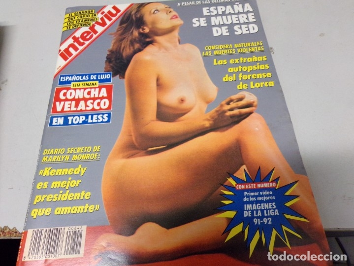 REVISTA INTERVIU NUMERO 842 CONCHA VELASCO (Coleccionismo - Revistas y Periódicos Modernos (a partir de 1.940) - Revista Interviú)