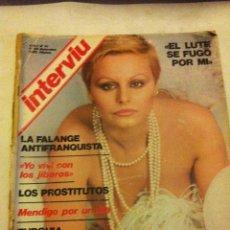 Coleccionismo de Revista Interviú: INTERVIU -Nº. 31 - AÑO 1976. Lote 175661548