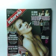 Coleccionismo de Revista Interviú: INTERVIU NUMERO 1288 YULIYA MAYARCHUK MUSA DE TINTO BRASS, FREAKS TV, FRIKIS TELE.. Lote 175944840
