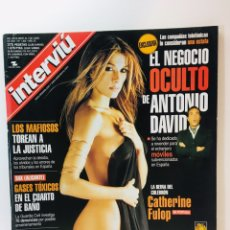 Coleccionismo de Revista Interviú: INTERVIU, CATHERINE FULOP, 2001, EROTICA. Lote 175946204