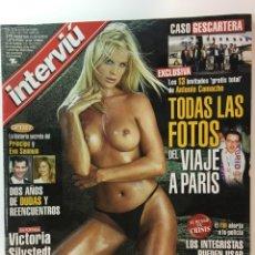 Coleccionismo de Revista Interviú: REVISTA INTERVIÚ NÚMERO 1329 VICTORIA SILVSTEDT AÑO 2001. Lote 176305262