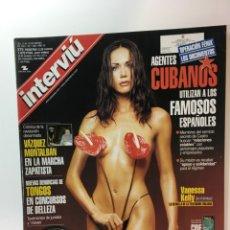 Coleccionismo de Revista Interviú: REVISTA INTERVIÚ NÚMERO 1298 VANESSA KELLY MODELO ITALIANA, GRAN HERMANO AÑO 2001. Lote 176305750
