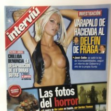 Coleccionismo de Revista Interviú: REVISTA INTERVIÚ NÚMERO 1325 ESPERANZA( FRANK FRANCES). Lote 176307262