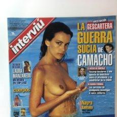Coleccionismo de Revista Interviú: REVISTA INTERVIÚ NÚMERO 1324 NAYRA SANTANA. Lote 176307452