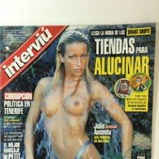 Coleccionismo de Revista Interviú: REVISTA INTERVIÚ NÚMERO 1289 JULIE AMANDA, ELTON JOHN,. Lote 176313779
