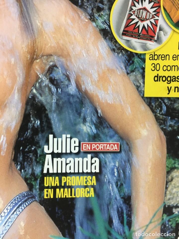 Coleccionismo de Revista Interviú: Revista Interviú número 1289 Julie Amanda, Elton John, - Foto 2 - 176313779
