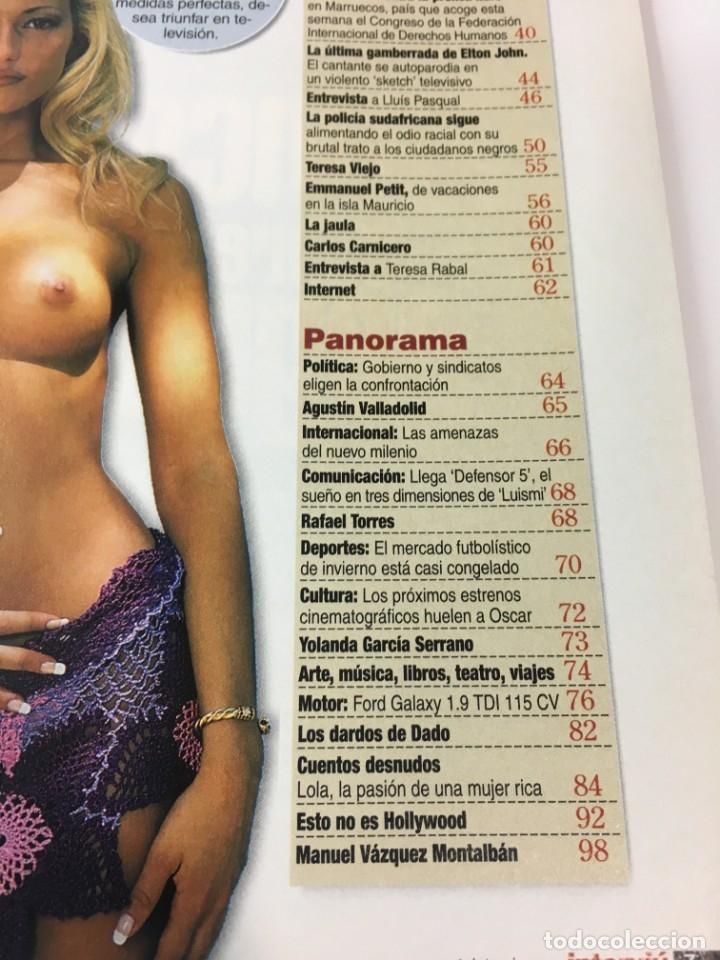 Coleccionismo de Revista Interviú: Revista Interviú número 1289 Julie Amanda, Elton John, - Foto 5 - 176313779