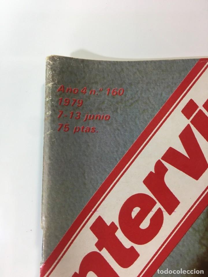 Coleccionismo de Revista Interviú: Revista Interviú número 160 año Natalia,1979, años 70.Publicidad años 70 - Foto 2 - 176313943