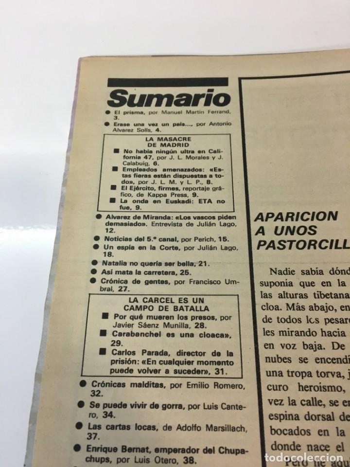 Coleccionismo de Revista Interviú: Revista Interviú número 160 año Natalia,1979, años 70.Publicidad años 70 - Foto 4 - 176313943
