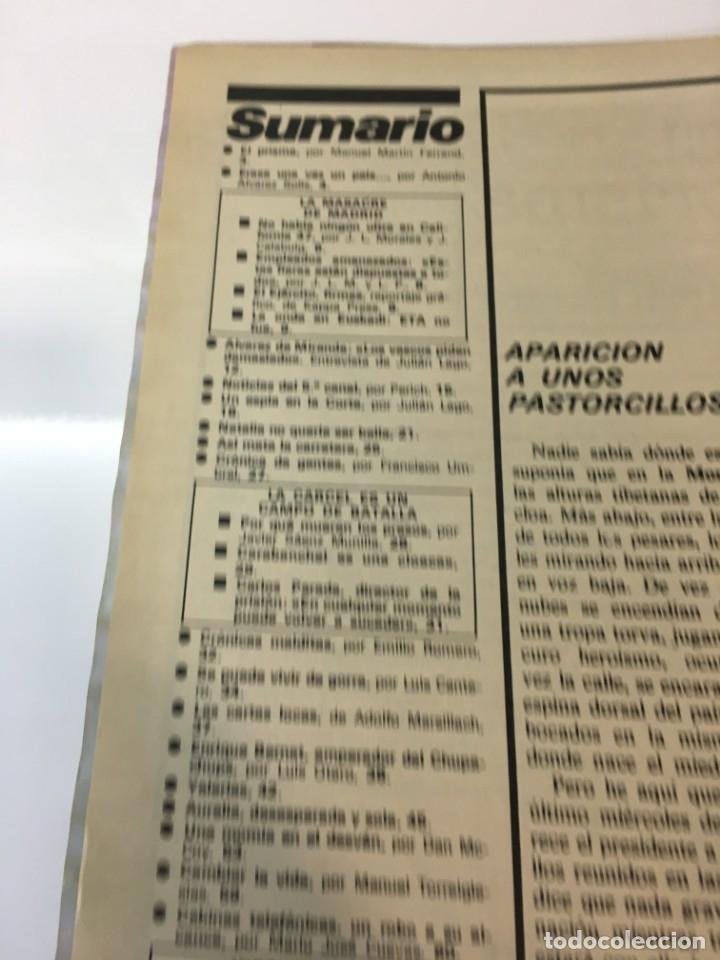 Coleccionismo de Revista Interviú: Revista Interviú número 160 año Natalia,1979, años 70.Publicidad años 70 - Foto 5 - 176313943