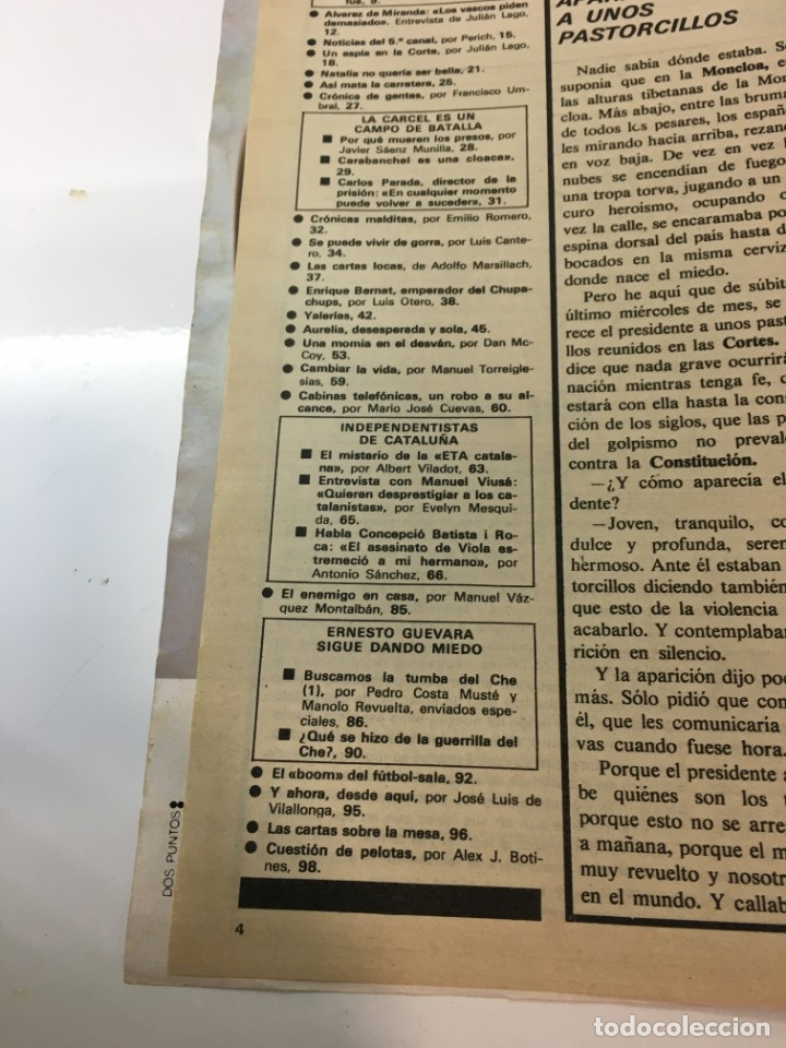 Coleccionismo de Revista Interviú: Revista Interviú número 160 año Natalia,1979, años 70.Publicidad años 70 - Foto 6 - 176313943