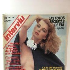 Coleccionismo de Revista Interviú: REVISTA INTERVIÚ NÚMERO 138 AÑO 4 NATALIA,1979, AÑOS 70.PUBLICIDAD AÑOS 70. Lote 176314174
