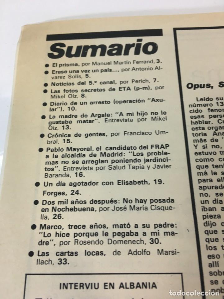 Coleccionismo de Revista Interviú: Revista Interviú número 138 año 4 Natalia,1979, años 70.Publicidad años 70 - Foto 3 - 176314174