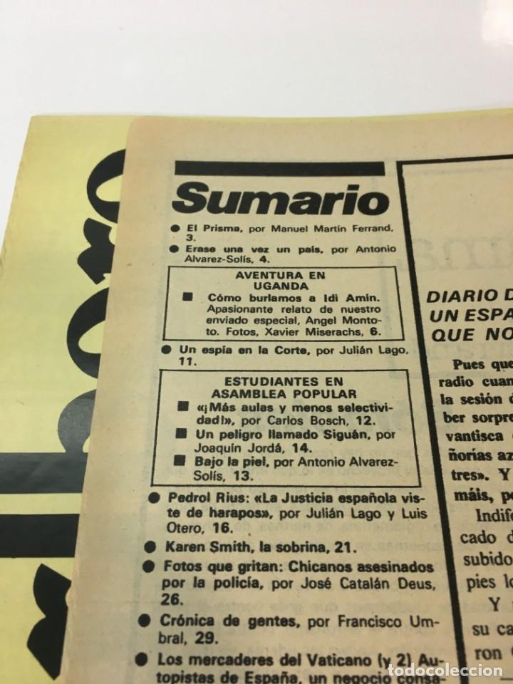 Coleccionismo de Revista Interviú: Revista Interviú número 151 año 4 ,Karent Smith 1979, años 70.Publicidad años 70 - Foto 3 - 176314323
