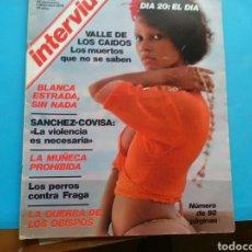 Coleccionismo de Revista Interviú: INTERVIU 1976 .AÑO 1 N° 28 .VALLE D LOS CAÍDOS . BLANCA ESTRADA .GUERRA D LOS OBISPOS .LA MUÑECA PRO. Lote 176340399