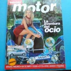 Coleccionismo de Revista Interviú: INTERVIU 2000 MOTOR .LA AVENTURA DEL OCIO .NOVEDADES 2001 . 74 PP. Lote 176342910