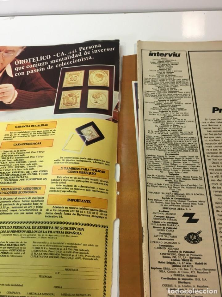 Coleccionismo de Revista Interviú: Revista Interviú número 144 año 4 ,Andrea Guson 1979, años 70.Publicidad años 70 - Foto 3 - 176508463