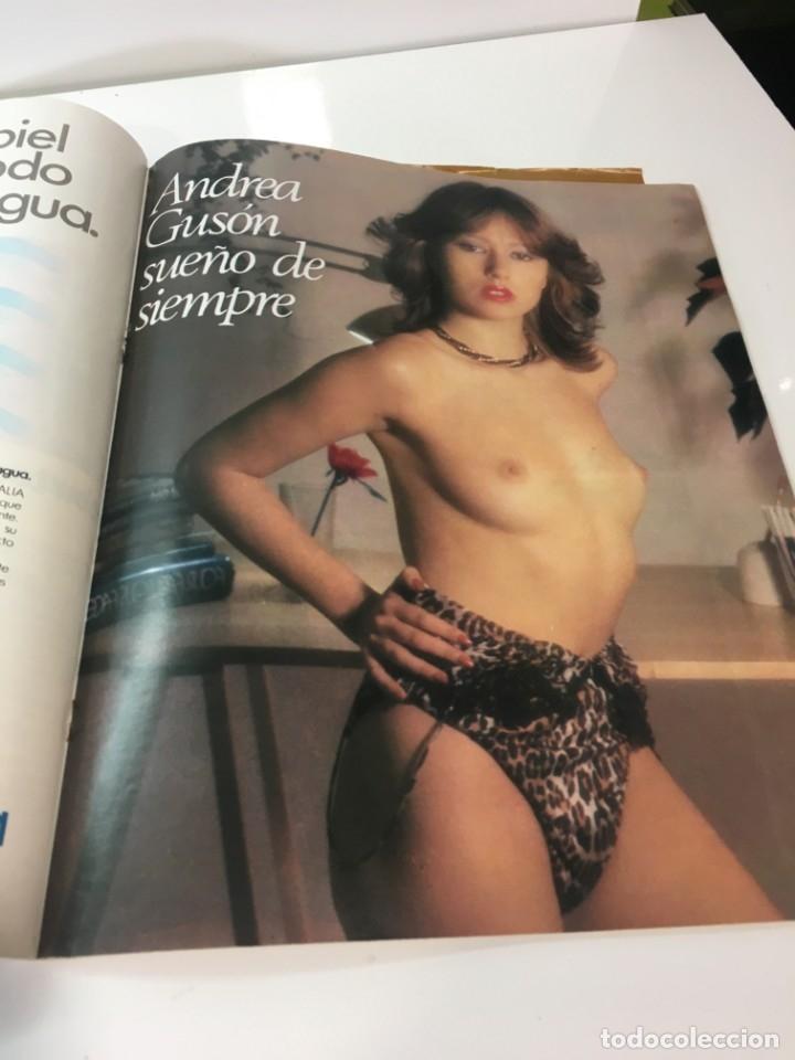 Coleccionismo de Revista Interviú: Revista Interviú número 144 año 4 ,Andrea Guson 1979, años 70.Publicidad años 70 - Foto 4 - 176508463