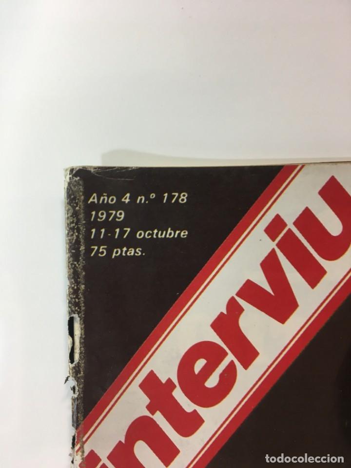 Coleccionismo de Revista Interviú: Revista Interviú número 178 año 4 ,Maria La Granjera, 1979, años 70.Publicidad años 70 - Foto 2 - 176511902