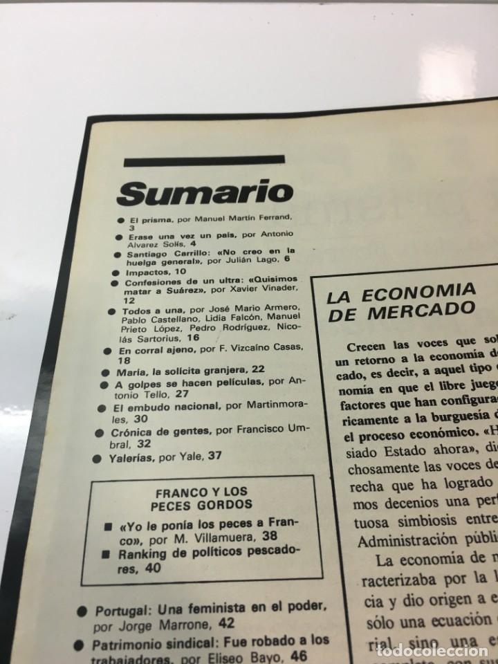 Coleccionismo de Revista Interviú: Revista Interviú número 178 año 4 ,Maria La Granjera, 1979, años 70.Publicidad años 70 - Foto 3 - 176511902