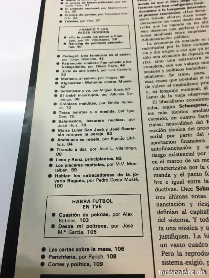 Coleccionismo de Revista Interviú: Revista Interviú número 178 año 4 ,Maria La Granjera, 1979, años 70.Publicidad años 70 - Foto 4 - 176511902