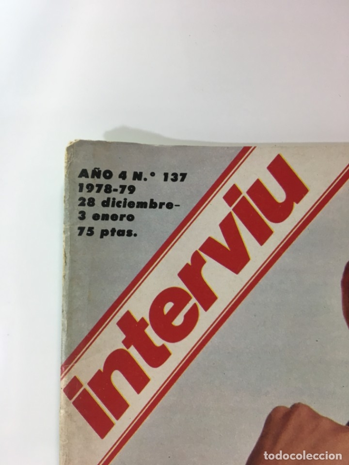 Coleccionismo de Revista Interviú: Revista Interviú número 178 año 4 ,Rosa Valenty, Eleonora Fani , 1979, años 70.Publicidad años 70 - Foto 2 - 176518832