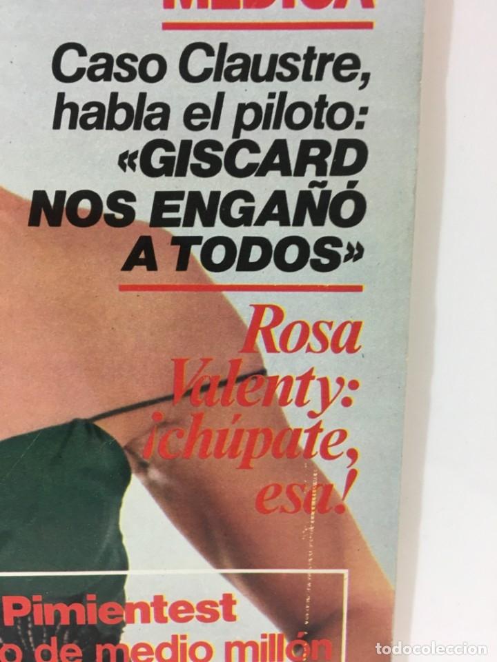 Coleccionismo de Revista Interviú: Revista Interviú número 178 año 4 ,Rosa Valenty, Eleonora Fani , 1979, años 70.Publicidad años 70 - Foto 3 - 176518832