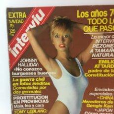 Coleccionismo de Revista Interviú: REVISTA INTERVIÚ EXTRA NAVIDAD AÑO 4 1979, AÑOS 70.PUBLICIDAD AÑOS 70-80-90. Lote 176518983