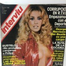 Coleccionismo de Revista Interviú: REVISTA INTERVIÚ, SYILVIA KRISTEL, ANNA MARIA NUMERO 159 AÑO 4 1979. PUBLICIDAD AÑOS 70-80-90. Lote 176519375