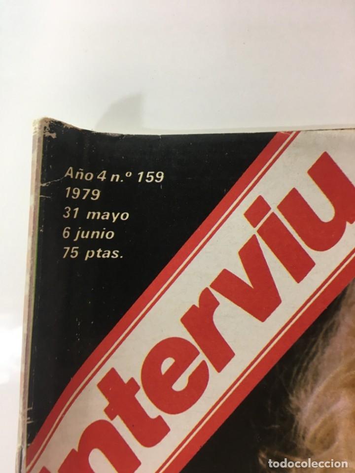 Coleccionismo de Revista Interviú: Revista Interviú, Syilvia Kristel, Anna MAria numero 159 año 4 1979. Publicidad años 70-80-90 - Foto 2 - 176519375