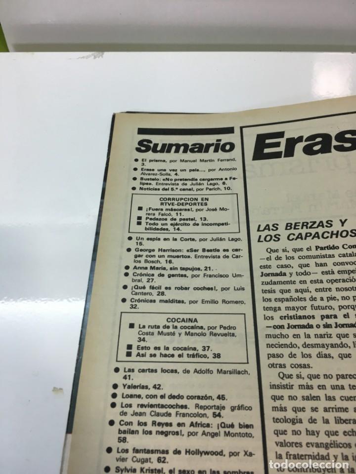 Coleccionismo de Revista Interviú: Revista Interviú, Syilvia Kristel, Anna MAria numero 159 año 4 1979. Publicidad años 70-80-90 - Foto 3 - 176519375