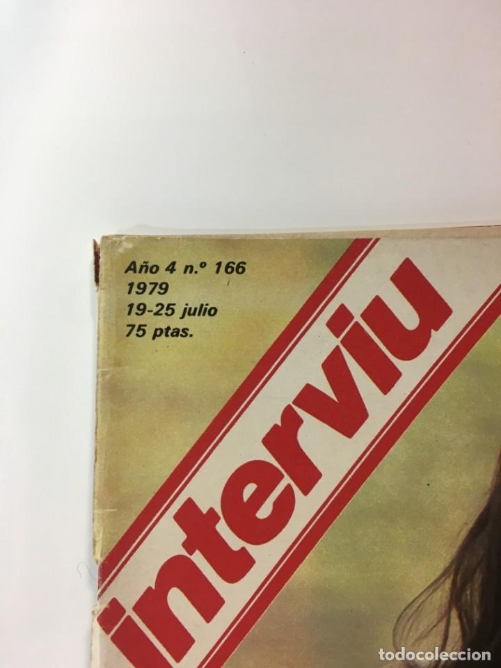 Coleccionismo de Revista Interviú: Revista Interviú, Tessa Heitt, numero 166 año 4 1979. Publicidad años 70-80-90 - Foto 2 - 176519852