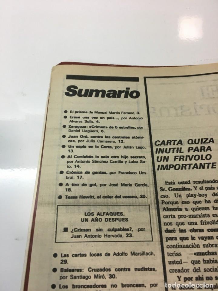 Coleccionismo de Revista Interviú: Revista Interviú, Tessa Heitt, numero 166 año 4 1979. Publicidad años 70-80-90 - Foto 4 - 176519852