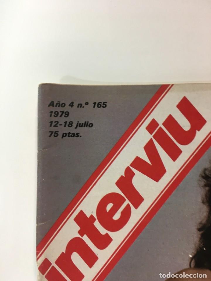 Coleccionismo de Revista Interviú: Revista Interviú, Isabel Luque, numero 165 año 4 1979. Publicidad años 70-80-90 - Foto 2 - 176519910