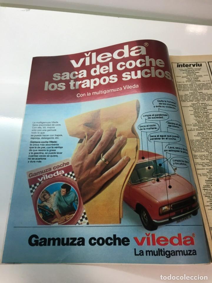 Coleccionismo de Revista Interviú: Revista Interviú, Isabel Luque, numero 165 año 4 1979. Publicidad años 70-80-90 - Foto 3 - 176519910