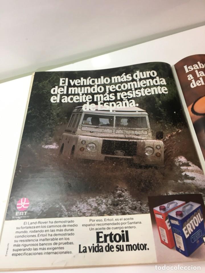 Coleccionismo de Revista Interviú: Revista Interviú, Isabel Luque, numero 165 año 4 1979. Publicidad años 70-80-90 - Foto 4 - 176519910