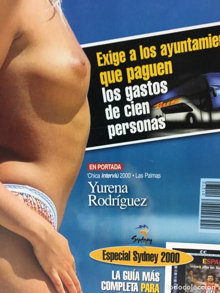 Coleccionismo de Revista Interviú: Revista Interviú, Yurena Rodiguez, numero 1272 año 24 2000, años-90, 2000 - Foto 2 - 176520397
