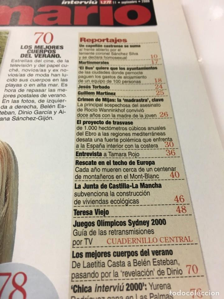 Coleccionismo de Revista Interviú: Revista Interviú, Yurena Rodiguez, numero 1272 año 24 2000, años-90, 2000 - Foto 4 - 176520397