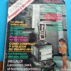 Coleccionismo de Revista Interviú: NTERVIU .IMAGEN Y SONIDO .SUPLEMENTO ESPECIAL N° 6. Lote 176685030