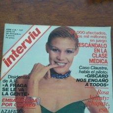 Coleccionismo de Revista Interviú: INTERVIU AÑO 4 NUMERO 137 1978-1979 28 DICIEMBRE -03 DE ENERO. Lote 176968430