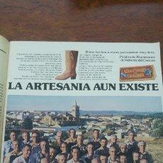 Coleccionismo de Revista Interviú: 38 ARTESANOS DEL VALVERDE DEL CAMINO HOJA PUBLICIDAD AÑO 1978. Lote 176969217