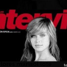 Coleccionismo de Revista Interviú: LOTE DE 2 REVISTAS MARISOL INTERVIU DESCATALOGADA, PUBLICADA EL DÍA 29-01-2018. Lote 177621180